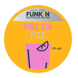 Funkin Pink Gin Fizz 10.0% 20l