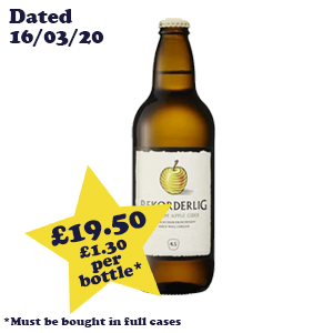 Rekorderlig Apple 4.5% 15x500ml OutOfDate