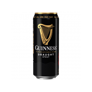 Guinness Draught Cans 4.1% 24x440ml