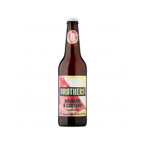 Brothers Rhubarb & Custard Cider 4.0% 12x500ml