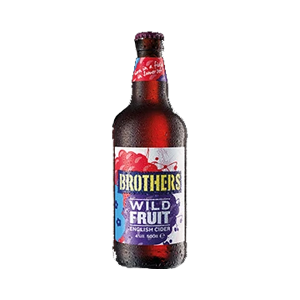 Brothers Wild Fruit Cider 4.0% 12x500ml