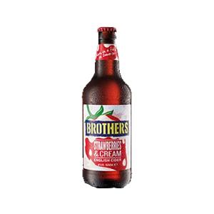 Brothers Strawberries & Cream Cider 4.0% 12x500ml