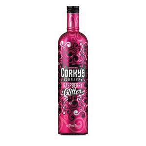 Corkys Raspberry Glitter Mix 70cl