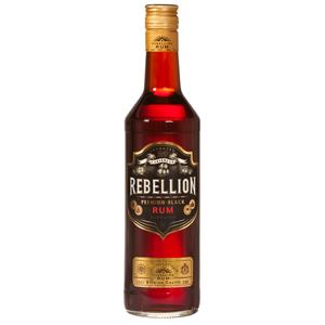 Rebellion Black Rum 70cl