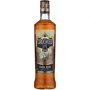 Crooked Eye Dark Caribbean Rum 70cl