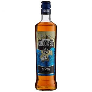 Crooked Eye Spiced Caribbean Rum 70cl