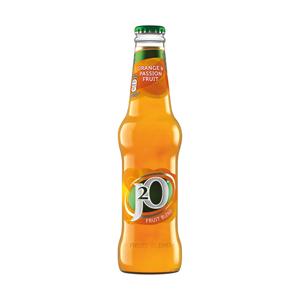Britvic J2O Orange & Passionfruit Straight Pack 0.0% 24x275ml