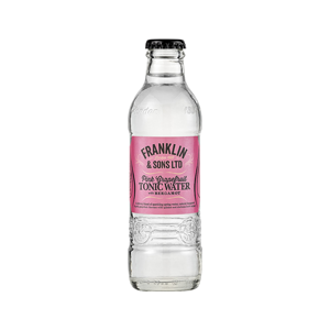 Franklin & Sons Pink Grapefruit & Bergamot Tonic 0.0% 24x200ml