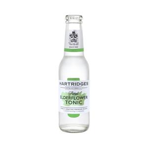 Hartridges Elderflower Tonic Water 0.0% 24x200ml